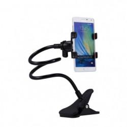 PLATYNE Support avec bras articulé smartphone - Noir