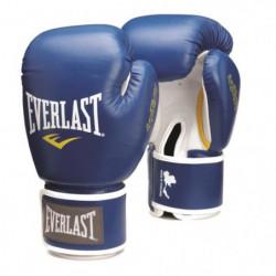EVERLAST Gants de boxe Thai - Bleu - 12 Oz