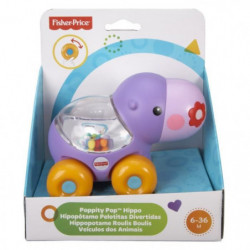 FISHER-PRICE Hippopotame Ami Jungle a Roulettes