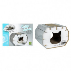"RIGA Catty Home ""I LOVE MY CAT"" Couchage chat - 50 x 37 x 35 cm"