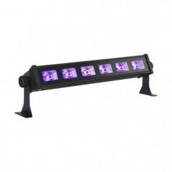 IBIL LED-UVBAR6 Barre a led uv 6 x 3w - Noir