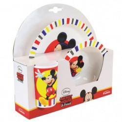 Fun House Disney Mickey ensemble repas comprenant 1 assiette