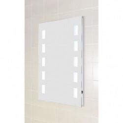 LOOK Miroir avec éclairage LED 50x70 cm  - Miroir lumineux