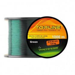 PROWESS Nylon Topline - 0,28 mm - 4,3 Kg - 1000m - Vert