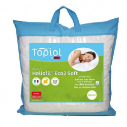 TOPIOL by DODO Oreiller Hollofil Eco² Soft - 60 x 60 cm