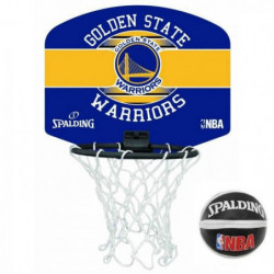 SPALDING Mini panier NBA Golden State Warriors