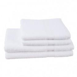 JULES CLARYSSE Lot de 2 serviettes+ 2 draps de bain Élégance
