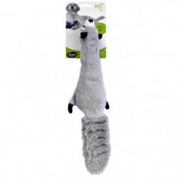 AIME Jouet raton laveur plat 37cm - Pour chien