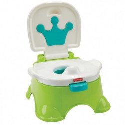 FISHER-PRICE - Pot Royal Estrade Blanc et Vert