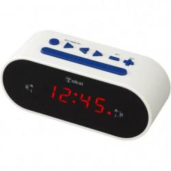 TOKAi TC155W Radio réveil Tuner digital FM - Blanc