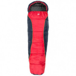 TRESPASS Sac de couchage Bunka - Enfant - Rouge