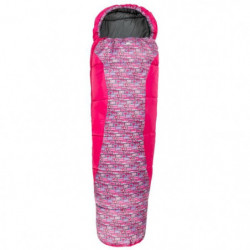 TRESPASS Sac de couchage Bunka - Enfant - Magenta Retro Tape