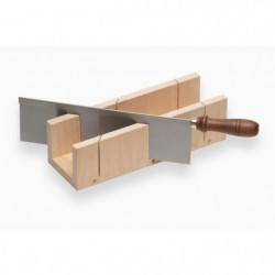 MEISTER Boite a onglet + scie a dos 300mm