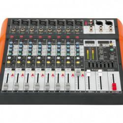 IBIZA SOUND MX802 Table de mixage musique 8 canaux usb