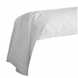 COTE DECO Taie de Traversin 100% coton 85x185 cm - Blanc