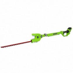 GREENWORKS Taille-haies électrique sur perche G24PH51K2 - 24V