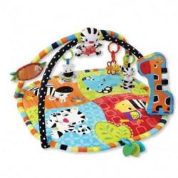 BRIGHT STARTS Tapis d'éveil Spots & Stripes Safari - Multicolore