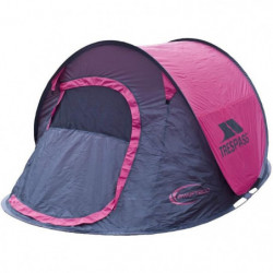TRESPASS Tente Pop Up 2 personnes Swift 2 Gerbera