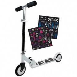 Trottinette enfant 2 roues Personnalisable avec stickers fil