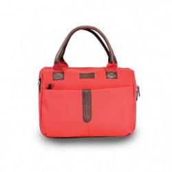 KINSTON Sac et Vanity Naples - Textile - Rouge