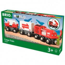 BRIO World  - 33888 - Train Citerne Avec Chargement