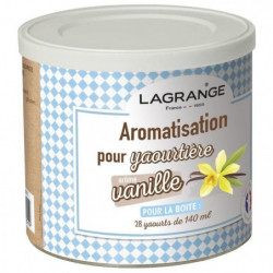 LAGRANGE Aromatisation Vanille pour yaourts - 380310 - 500 g