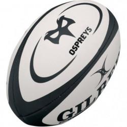 GILBERT Ballon de rugby Replica Ospreys T4