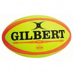 GILBERT Ballon de rugby Match Omega Fluo T4