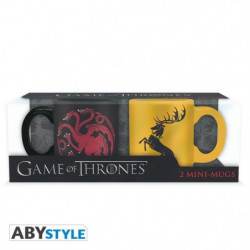 Set de 2 mugs Game Of Thrones - 2 mugs a espresso - 110 ml