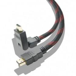 Cable HDMI 4K High Speed Articulé de 2M Multi-Support