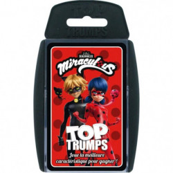 TOP TRUMPS - Miraculous - Jeu de cartes - Version française