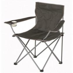 Chaise de camping pliable - 50 x 50 x 80 cm - Gris