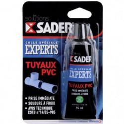 SADER Tube colle tuyaux PVC - 55 ml
