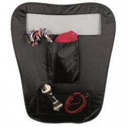 TRIXIE Cloison pliable pour voiture - 60 et 44x69cm - Noir