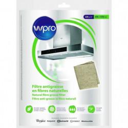 WPRO NGF221 Filtre antigraisse universel en fibres naturelle