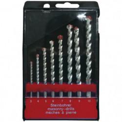 TEC HIT Coffret 8 forets a béton de 3 a 10 mm