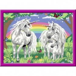 RAVENSBURGER Numéro d'art - grand - Au pays des licornes
