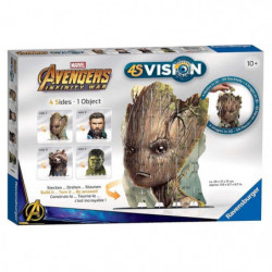 AVENGERS 4S VISION Avengers Infinity War Groot & Co
