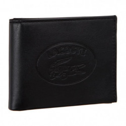 LACOSTE Portefeuille NH2832IC Noir Homme