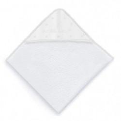 ABSORBA Sortie de bain Chut bébé dort - 100% coton