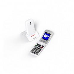 SWISSVOICE S24 - Téléphone mobile débloqué 2G a clapet