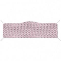 ABSORBA Tour de lit déhoussable London fille  - 100% coton