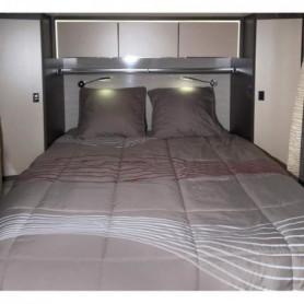 MIDLAND Pret-a-Dormir 130x200 cm Coupe a Gauche