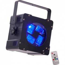 IBIZA HYPNO40-LED Effet de lumiere psychedelique