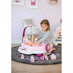 SMOBY Baby Nurse Nursery Electronique + Poupon Pipi
