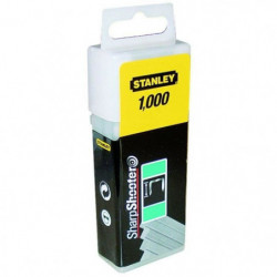 """STANLEY 1000 agrafes plates 10mm-3/8"""""""