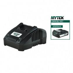 MYTEK Chargeur 18 V - 4 Ah