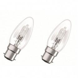 OSRAM Lot de 2 ampoules Eco-Halogenes B22 46 W