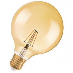 OSRAM-Ampoule LED filament Globe E27 Ø12,5cm 2400K 6.5W