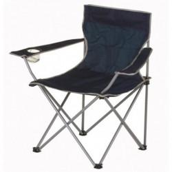 Chaise de camping pliable - 50 x 50 x 80 cm - Bleu